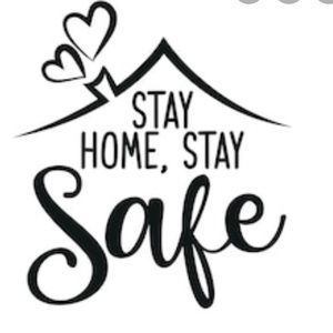 Shop at home! Stay Home! Stay Safe COVID-19 Free